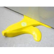 Fermaporta a forma di buccia di banana