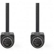Nedis CVGP30000BK20 S-video Kábel 2m - fekete