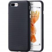 Funda Case Para IPhone 7 Plus / IPhone 8 Plus Doble Protector De Uso Rudo-Negro