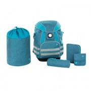 Lässig 4Kids School Set About Friends - mélange blue - Blauw
