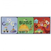 Jill McDonald Kids Set of 3 Little Chunky Books All Boy