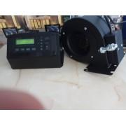 Apríték égő kazán vezérlő és ventilátor HU-37RS ésT70