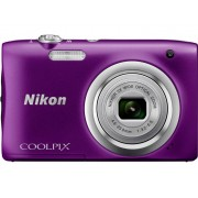 Nikon Coolpix A100 Digitale camera 20.1 Mpix Violet Full-HD video-opname