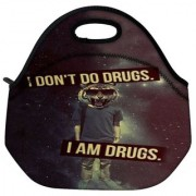 I Am Drugs Designer Protective Back Case Cover For Oneplus 3 Travel Outdoor Tote Lunch Bag