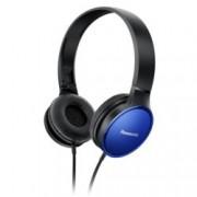 Слушалки Panasonic RP-HF300, позлатен жак, 10Hz-23kHz, сини