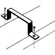 Ventilacijski sustav plosnatih kanalica 100 držač cijevi Wallair S20118