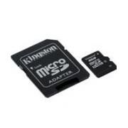MEMORIA KINGSTON MICRO SDHC 8GB CLASE 4 C/ADAPTADOR