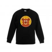 Bellatio Decorations Dieren beer trui zwart jongens en meisjes