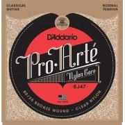 D'Addario EJ47 ProArte Laser Selected Nylon Trebles Normal