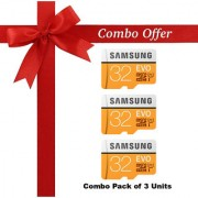 (Pack of 3) Samsung EVO Memorydrive
