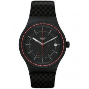 Swatch Sistem Damier Black