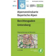 Alpenverein OEAV BY22 Berchtesgaden, Untersberg 1:25 000