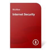 McAfee Internet Security – 1 година За 10 устройства, електронен сертификат