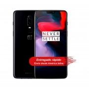 """Celular Oneplus 6 8GB RAM 12GB ROM Dual Sim 6.28"""" pulgadas - Negro"""