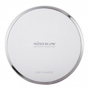 NILLKIN Magic Disk III Fast Charge Wireless Charger (Not Support FOD Function) for Samsung S7/S7 Edge Etc - White