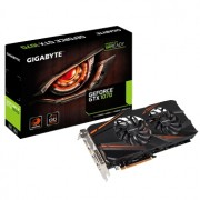 Placa video Gigabyte GeForce GTX 1070 WINDFORCE OC, 1582 (1771) MHz, 8GB GDDR5, 256-bit, DL-DVI-D, HDMI, 3x DP