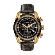 【60%OFF】メンズ V-RAY クロノグラフ デイト ウォッチ フェイス:ブラック ベルト:ブラック ファッション > 腕時計~~メンズ 腕時計
