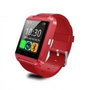 Ceas Bluetooth SmartWatch compatibil Android si iOs ROSU