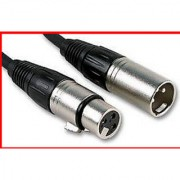 1x Microphone Low Noise Cable Lead XLR Male Female 5Meter
