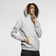 Sweatà capuche entièrement zippé Nike Sportswear pour Homme - Gris