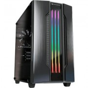 COUGAR Gemini M - Iron-gray, Mini ITX / Micro ATX Case, USB3.0x1, USB2.0 x 1, Mic x 1 / Audio x 1, RGB Control Button, 2X3.5&quo
