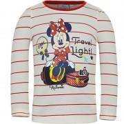 Disney Minnie Mouse t-shirt wit/rood voor meisjes