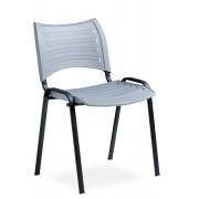 Rolléco Chaise de conférence assise plastique Rouge