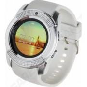 Smartwatch Garett G11 SIM microSD Camera Bluetooth Alb Argintiu