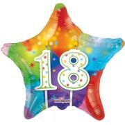 18. Évszámos lufi, fólia, csillag