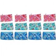 Saashika Baby Nappies/Longot Premium Quality(12 pc Set) (Plastic and Towel)