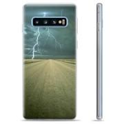 Samsung Galaxy S10+ TPU Case - Storm