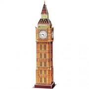 Small foot company Puzzle 3D Big Ben Costruzione Torre di Londra 30 Pezzi 9 x 9 x 38 cm