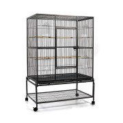 i.Pet Large Bird Cage with Perch - Black [PET-BIRDCAGE-B029T]