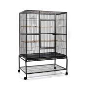 i.Pet Large Bird Cage with Perch - Black [PET-BIRDCAGE-B029T]