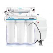 Ecosoft Фильтр обратного осмоса Ecosoft Standard с минерализатором и помпой на станине
