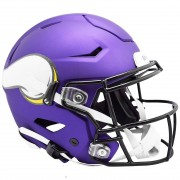 Riddell Authentic SpeedFlex Helmet - NFL Minnesota Vikings Purple