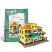 Cubic Fun 3 D Puzzle World Style Series Italy Flavor Folk House