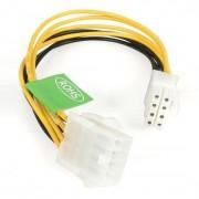 StarTech 12v 8-pins voeding verlengkabel