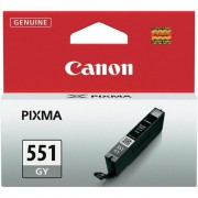 CANON CLI-551GY, Grey InkJet Cartridge (BS6512B001AA)