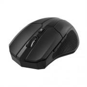 Deltaco trådlös optisk mus svart, 1600 dpi