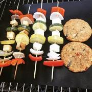 ELECTROPRIME Lot of Mats Easy BBQ Grill Mat Bake Nonstick Picnic Grilling Mats 3Pcs