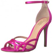 Jewel Badgley Mischka Women's Haskell Dress Sandal, Hot Pink, 9 M US