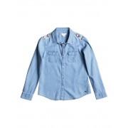 Roxy Джинсовая рубашка с длинным рукавом Water Priorities