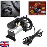 ELECTROPRIME® Heavy Duty 150PSI/12V Air Compressor High Speed for Car Tyre Inflator Pump