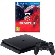 Конзола PlayStation 4 Slim 500GB Black, Sony PS4+Игра DRIVECLUB PS4