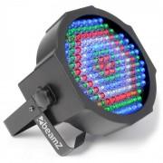 Beamz LED FlatPAR Reflector PAR LED 154x10mm RGBW mando (Sky-151.226)