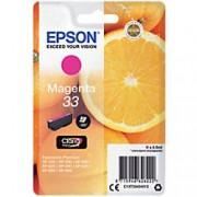 Epson 33 Original Ink Cartridge C13T33434012 Magenta