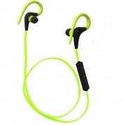 Audífonos Bluetooth Manos Llibres Inalámbricos, Q10 Deportes Inalámbricos De Ejecución De La Música Auricular Audifonos Bluetooth Manos Libres Sweatproof (verde)