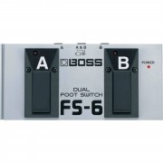 Boss FS-6 Pedal doble, polaridad seleccionable