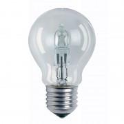 E27 57W clear halogen bulb Class. A bulb shape